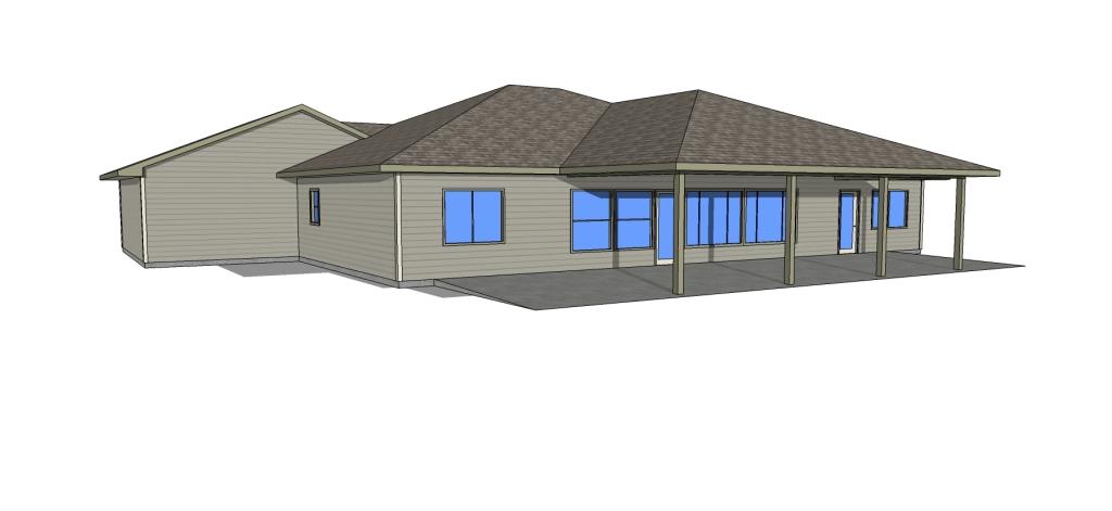 Bowman Main HOUSE Plan back view