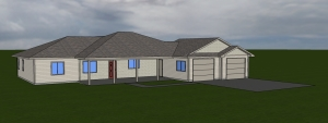 for web front house plan Bow Manner