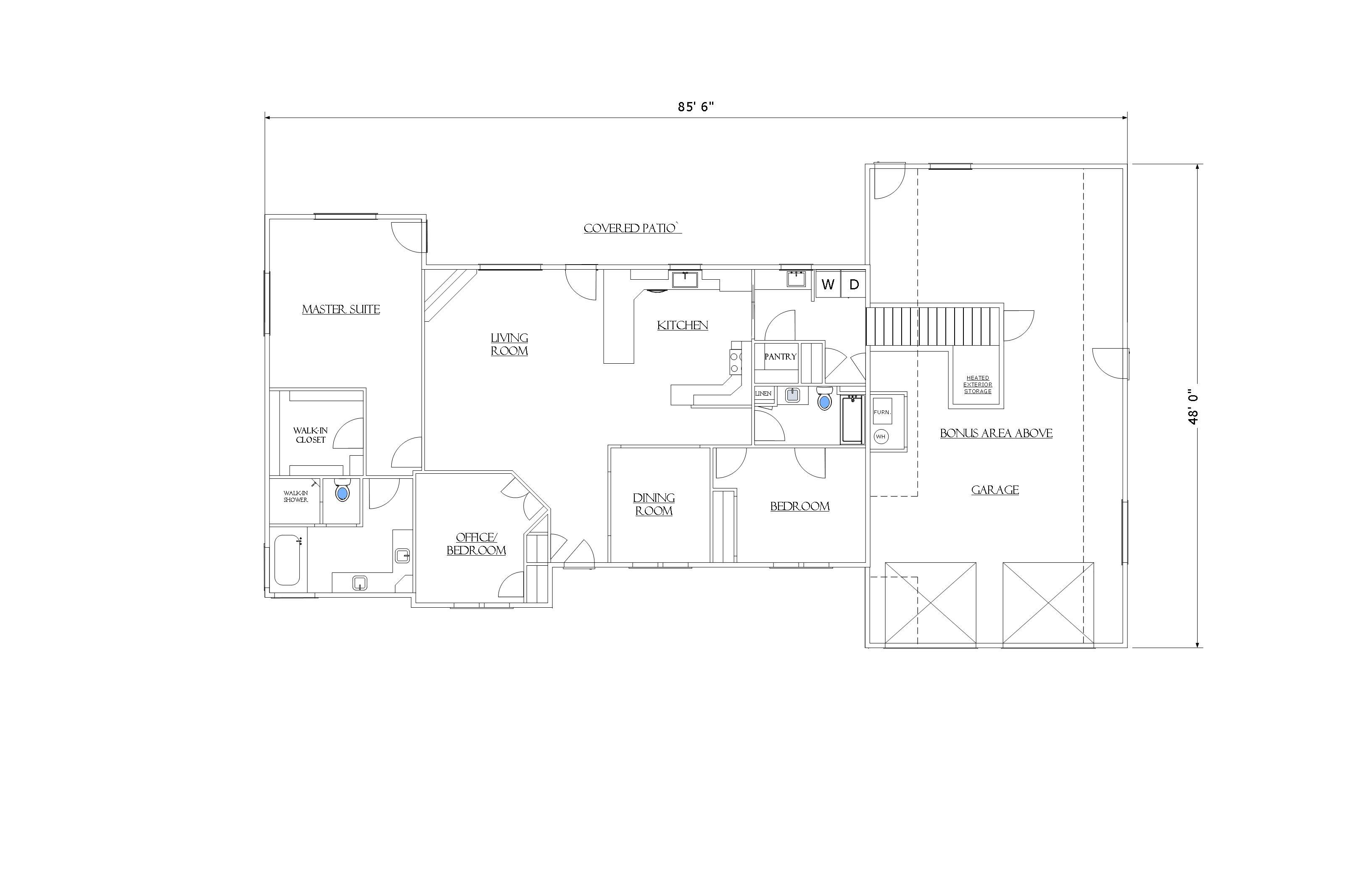 The Della Dean House Plan
