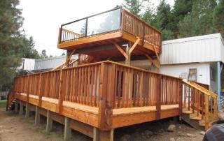 Vince 2 story deck design