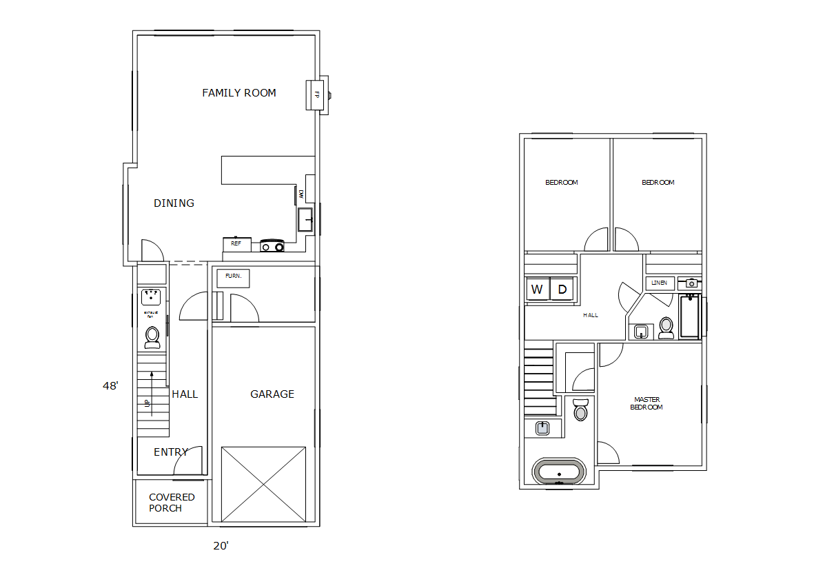 The Newman House Plan