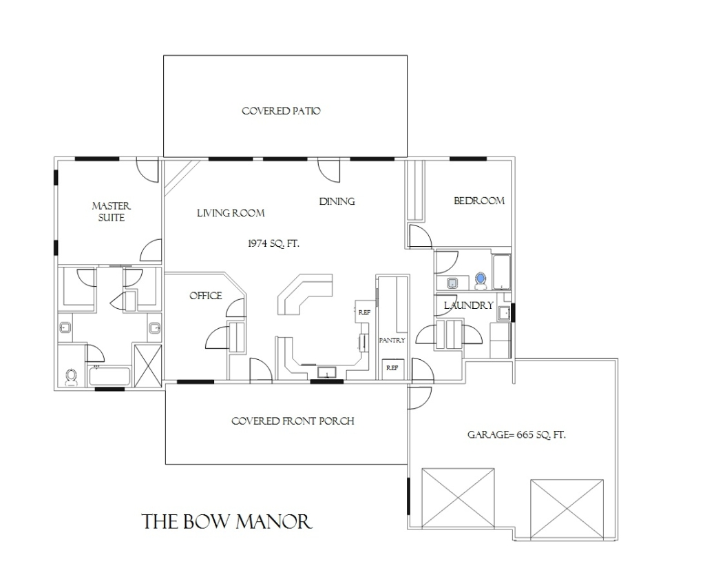The bow manor efficient and affordable spokane house for Bow house plans
