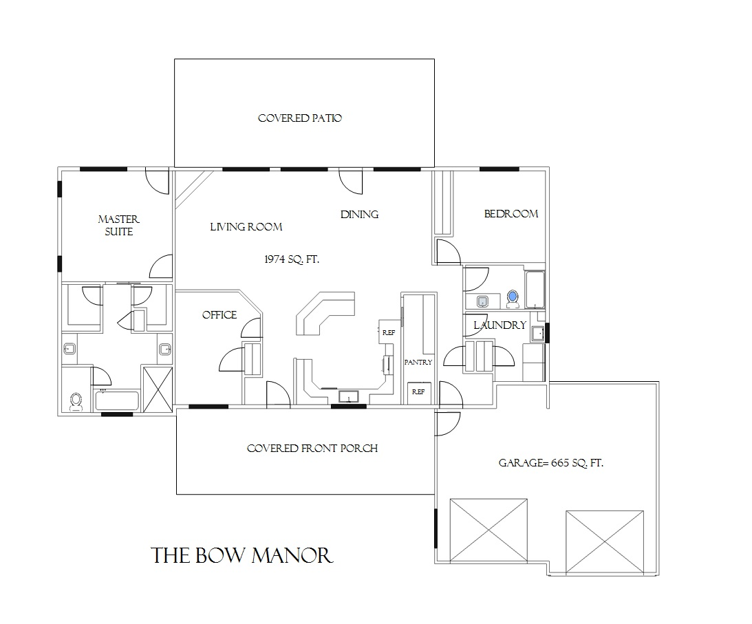 Bow Manor House Plans