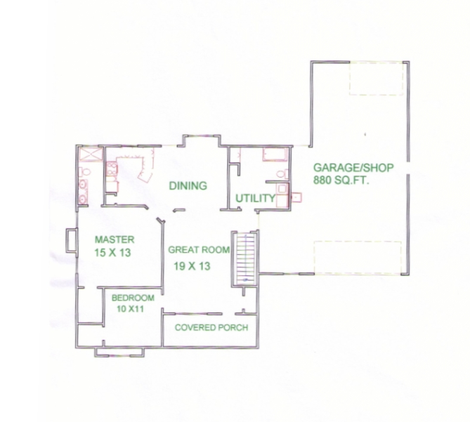 The Sinclair House Plan