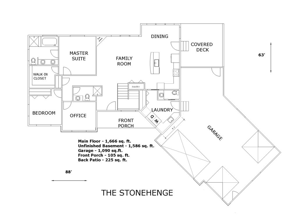 new web shot of nice house plan
