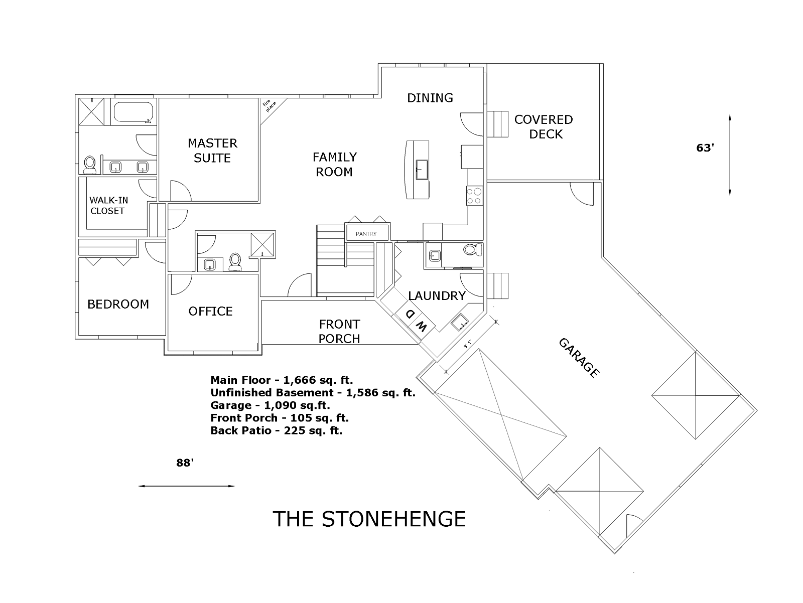 The Stonehenge House Plans