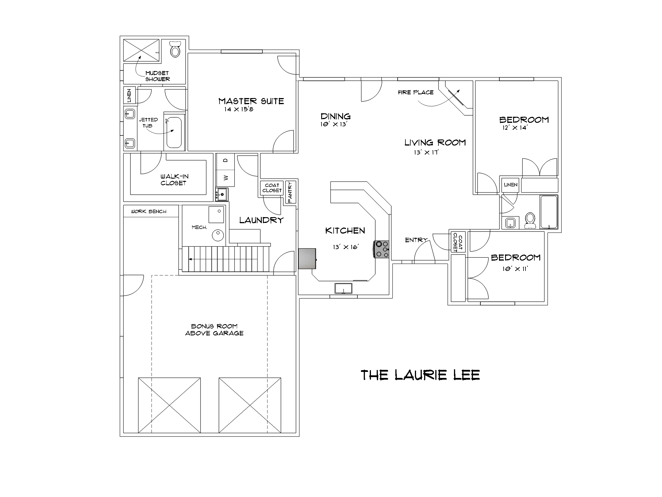 Laurie Lee Floor Plan