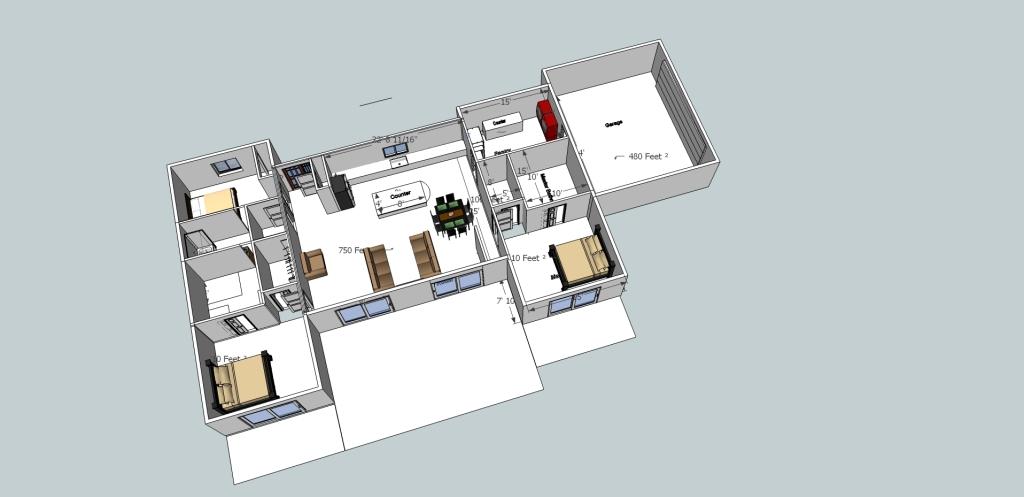 House plan r3 walls2