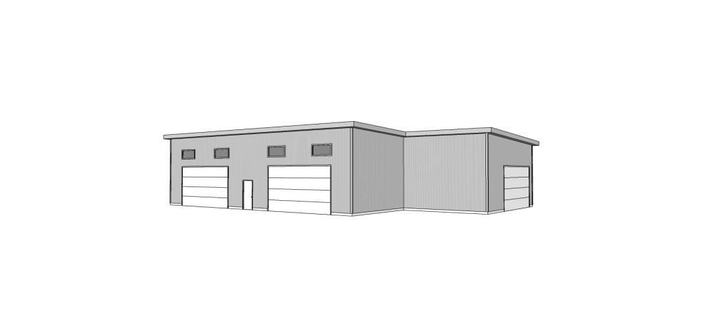 modern home design in central washington airplane hanger