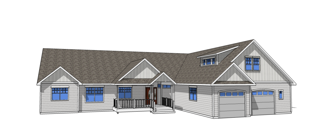 luna landing floorplan front elevation