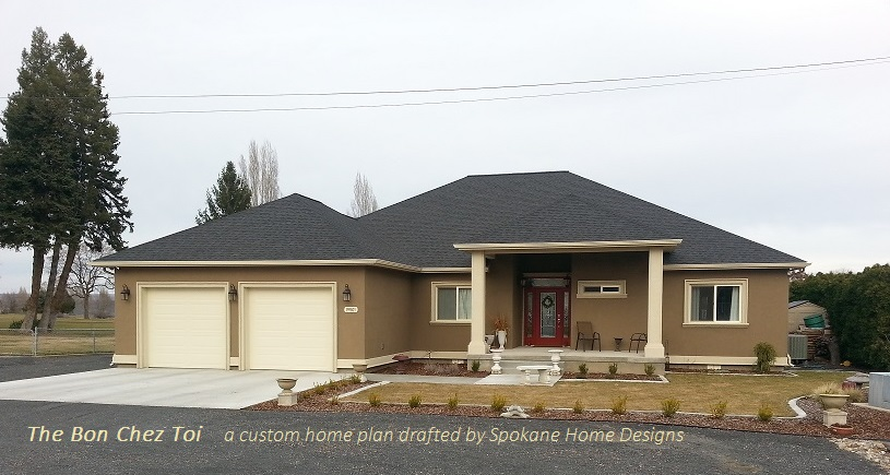 An example of a home not done by a residential architect.