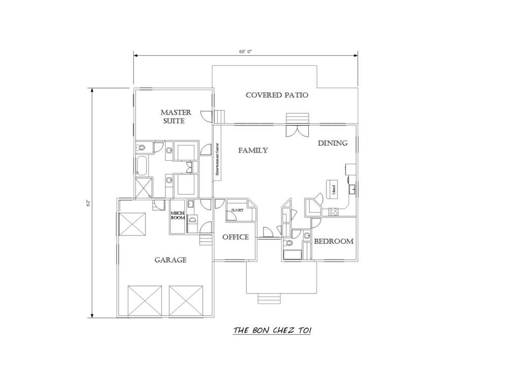 The The Bon Chez Toi houseplan