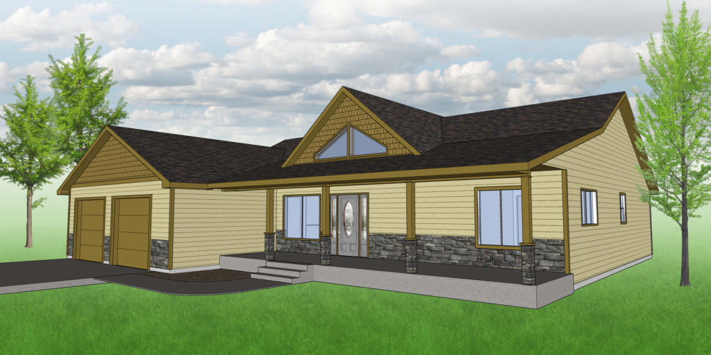 The Nesst House Plan - Front